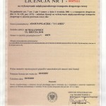Licencja 1